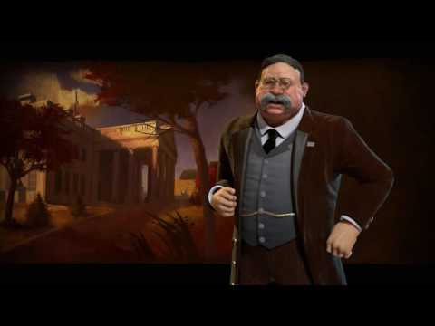 America Theme - Industrial (Civilization 6 OST) | Hard Times Come Again No More