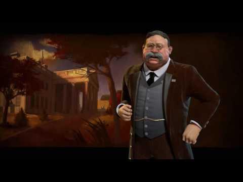 America Theme - Industrial (Civilization 6 OST)   Hard Times Come Again No More