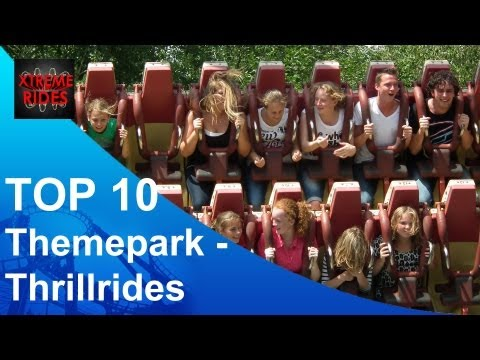 TOP 10 Themepark-Thrillrides Benelux