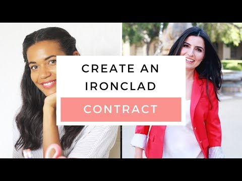 How To Create A Web Or Graphic Design Contract