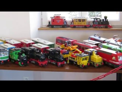 Canford Valley Railway: Playmobil RC train - on the layout |Playmobil Train Layouts