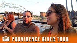 PROVIDENCE RIVER TOUR | Boat Tourism in Providence, RI [GoPro Vlog]