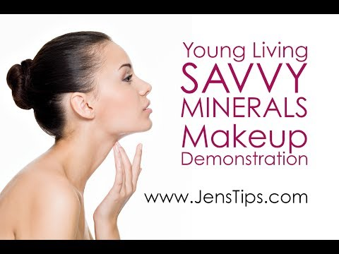 Young Living Savvy Minerals Makeup Demo