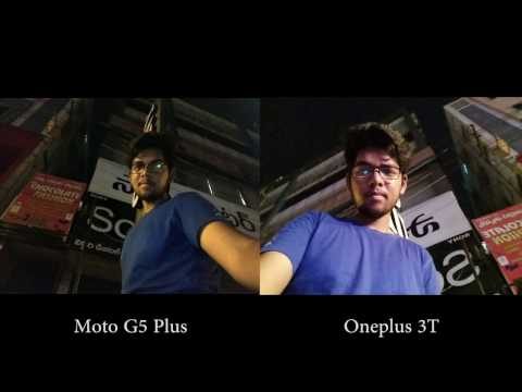 Moto G5 Plus vs Oneplus 3T Camera Comparison - 동영상