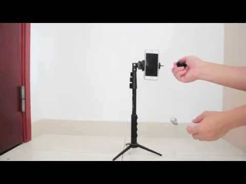 best selfie stick and tripod for vlogging doovi. Black Bedroom Furniture Sets. Home Design Ideas
