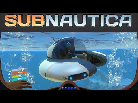 Subnautica Gameplay - Seamoth Sub! (Undersea Sandbox 1080p60)