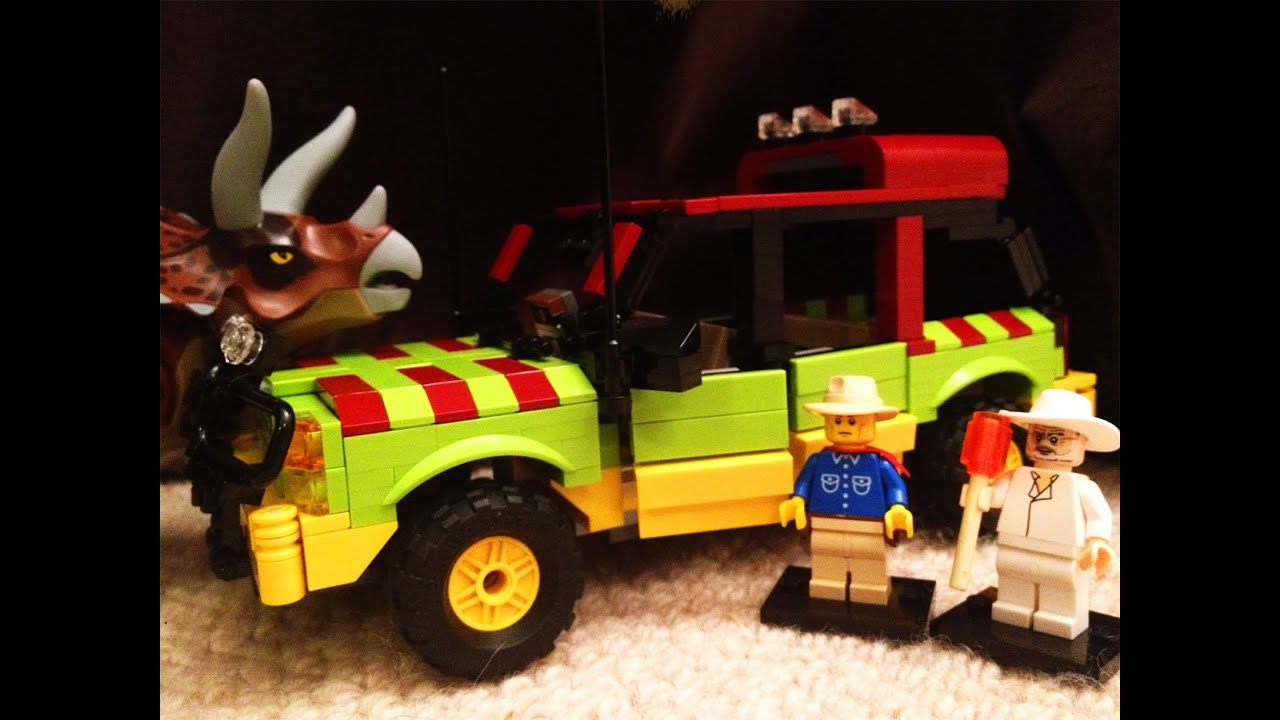 Lego - Jurassic Jungle Explorer, Alan Grant, John Hammond ...