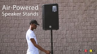 Yamaha SB309 Universal Air-Powered, self-lifting Speaker Stand for up to 60kg