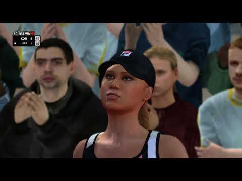 Kournikova's return to the WTA - Top Spin 4 - Fantasy Match