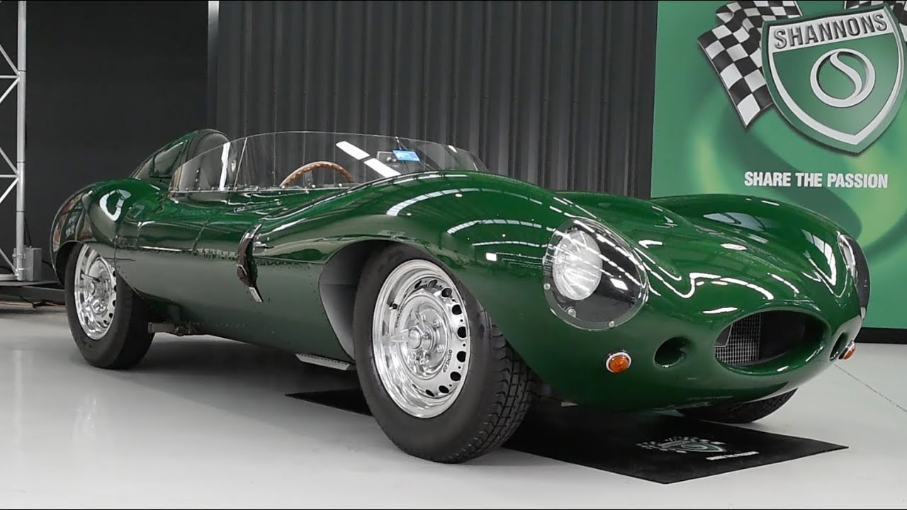 c1955 Jaguar Classic Autocraft D-Type (Recreation) -  2017 Melbourne Nov Auction - 'Ian Cummins Collection'