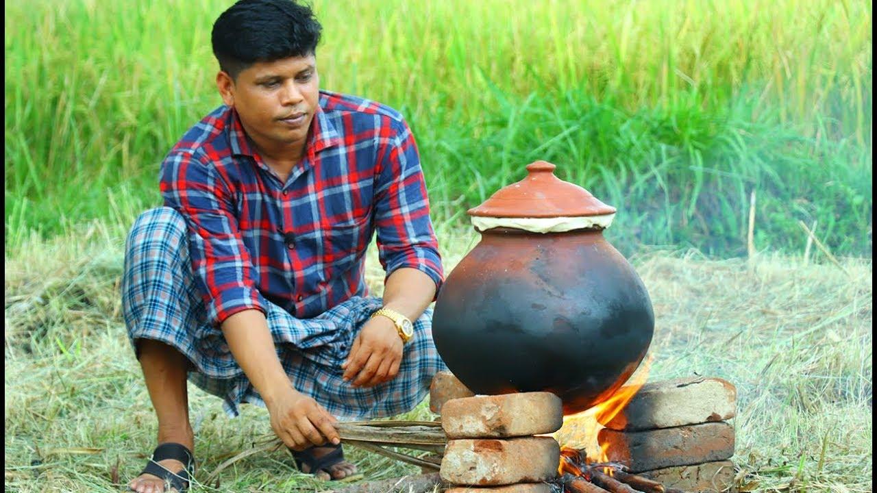 YUMMY POT BIRYANI | Chicken Biryani Recipe | Cooking Skill Village Food Channel