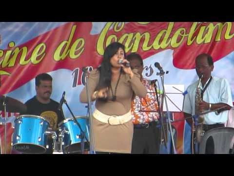 Olga Singing At Sangodd On Parrikar