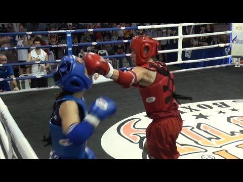 Muay Boran S Females 51Kg - Russia VS Greece