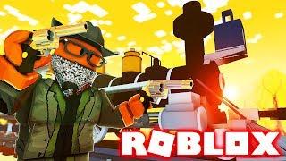 ROBLOX BANDIT SIMULATOR! (I Robbed The Train)