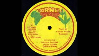 Michael Prophet / Peter Rankin / General Lucky - She Is Gone