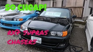 Best Cars for Sale in Japan for Cheap