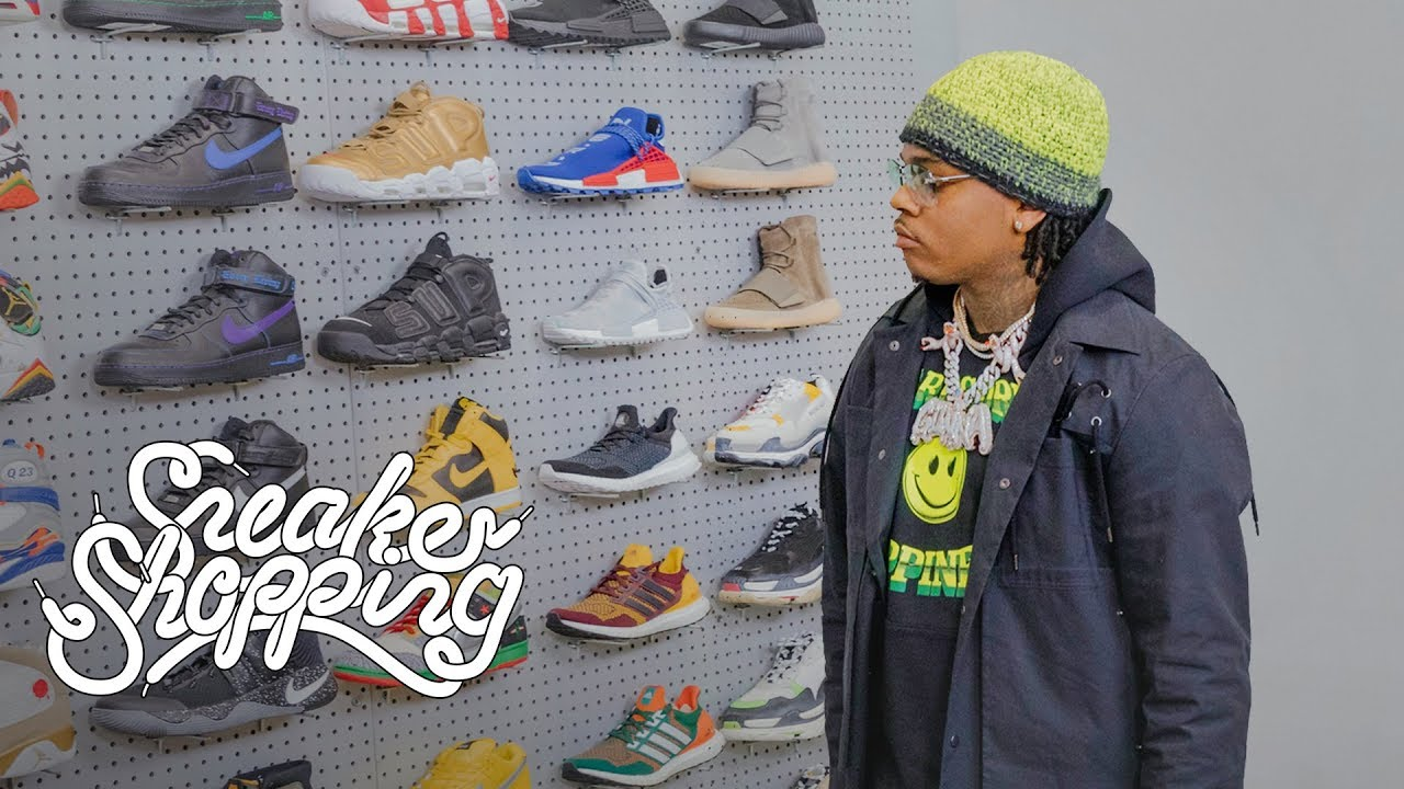 Gunna Goes Sneaker Shopping With