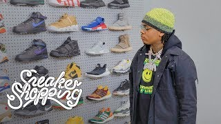 Gunna Goes Sneaker Shopping With Complex