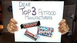 Top 3 Pet Food Manufacturers