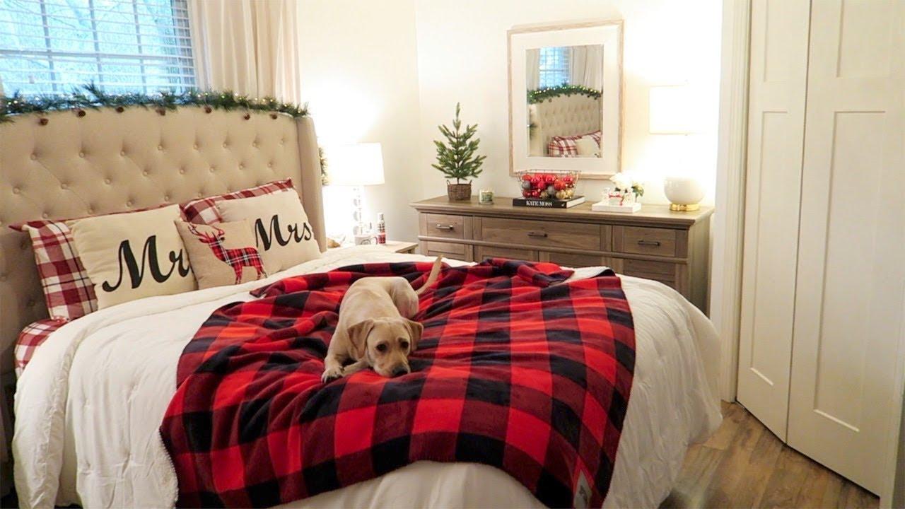 Christmas Bedroom Tour Christmas Shopping Haul Youtube