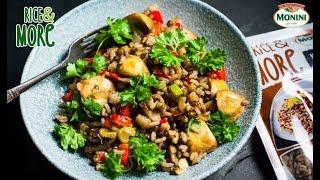Kaszotto z pieczarkami i Rice&MORE 90sek. Włoski orkisz, soczewica i brązowy ryż