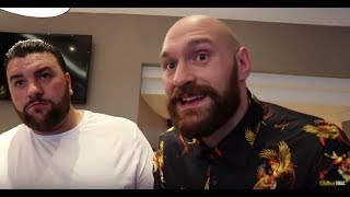 'I WAS 27st WHEN I AGREED BELLEW FIGHT' -TYSON FURY & SHANE FURY / SAYS 'HEARN TRIED TO SIDELINE ME'