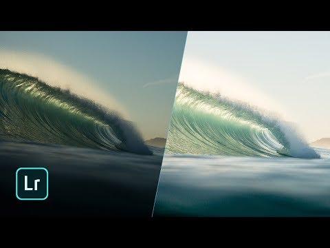 Surf photography Lightroom tutorial. How I edit my photos. KEEP IT SIMPLE.