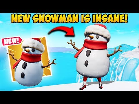 *NEW* SNEAKY SNOWMAN IS OP! - Fortnite Funny Fails and WTF Moments! #448 thumbnail