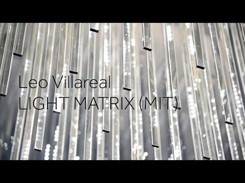 Leo Villareal:  Light Matrix (MIT)