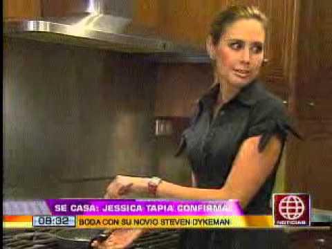 Jessica Tapia Anunció Su Matrimonio Con El Estadounidense Steven Dykeman