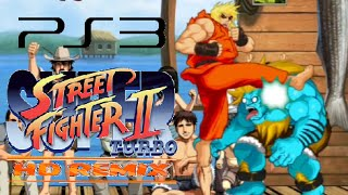 Super Street Fighter II Turbo HD Remix playthrough (PS3)