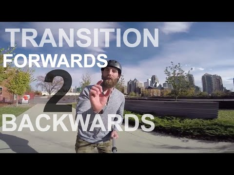BASIC FORWARDS TO BACKWARDS TRANSITION ON INLINE SKATES