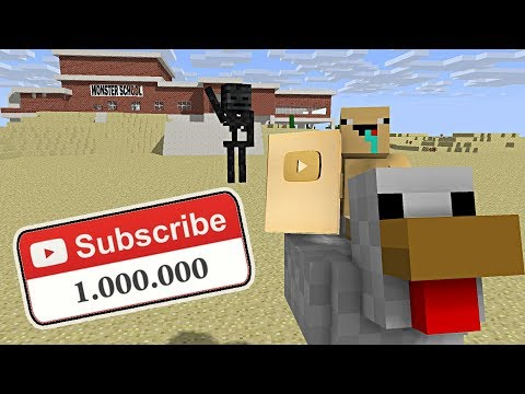 Monster School : 1 MILLION SUBSCRIBER SPECIAL - Minecraft Animation
