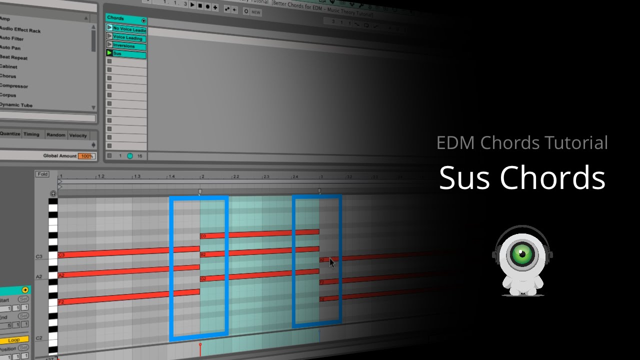 Edm Chords Tutorial Sus Chords For Better Flow Youtube