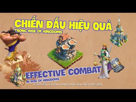 Chiến đấu hiệu quả trong Rise of kingdoms/ Effective combat in Rise of kingdoms