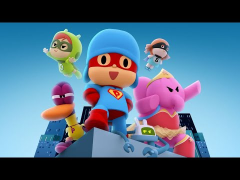 🎥 POCOYO THE MOVIE - Pocoyo and The League of Extraordinary Super Friends   CARTOON MOVIES for KIDS