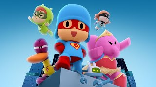 🎥 Pocoyo The Movie   Pocoyo And The League Of Extraordinary Super Friends | Cartoon Movies For Kids