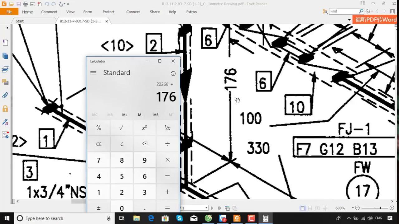 đọc bản vẽ ống 4 – isometric drawing part 4