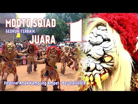 JUARA 1 Lomba Buto Gedruk -  MDTTG SQUAT | Festival Anak Kampung Ampel - Boyolali 2019