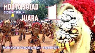 JUARA 1 Lomba Buto Gedruk MDTTG SQUAT Festival Anak Kung Ampel Boyolali 2019