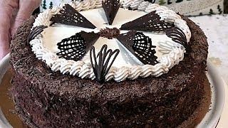 """Торт """"МОЛОЧНАЯ ДЕВОЧКА """". Самый  нежный молочный торт."""