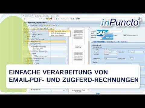 E Mail Pdf Rechnung Und Zugferd Rechnungen Automatisch Bearbeiten
