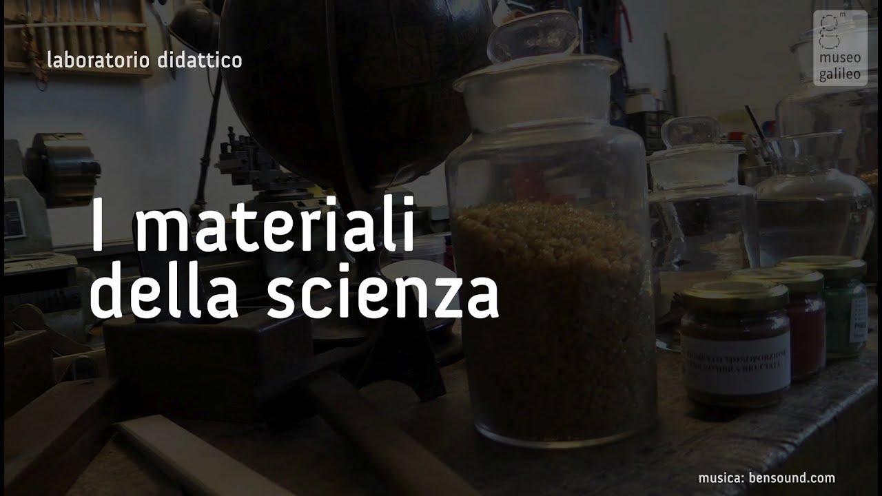 I materiali della scienza