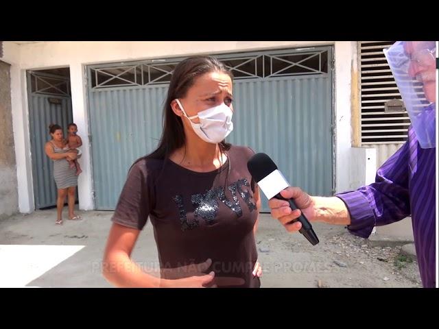 Poeira e lama na Rua Dr. Tércio - Parque Ecológico - Porto Seguro Bahia