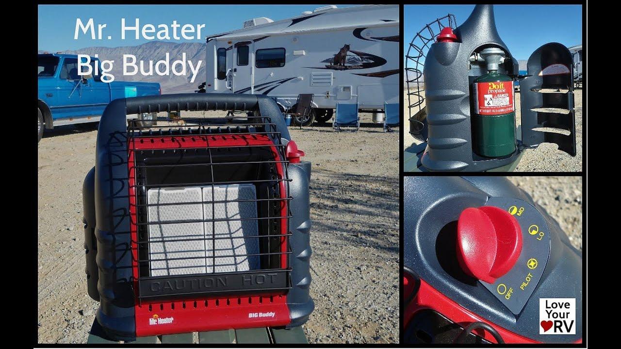 Big buddy heater propane tank hook up