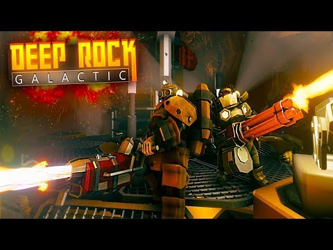 SHOOT THEM ALL! - Deep Rock Galactic (Space Dwarf Mining)