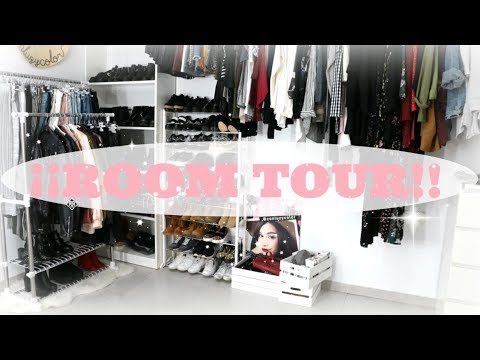 ROOM TOUR ¡OS ENSEÑO MI VESTIDOR!