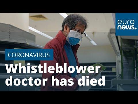 Coronavirus whistleblower doctor has died, say Chinese authorities