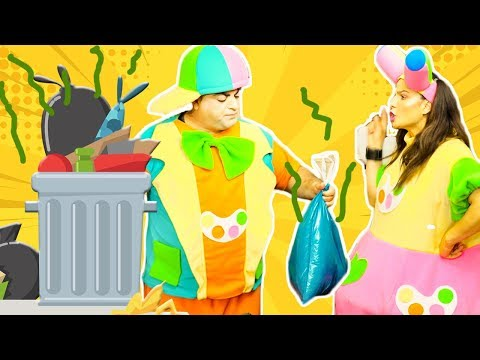 علوش ومروش - علوش والقمامة -naloush maroush alosh and the trash can