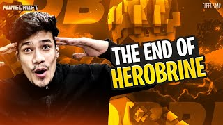 The End Of Herobrine | Fleet SMP Day #107